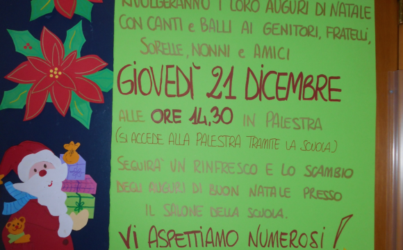 Festa di Natale scuola infanzia