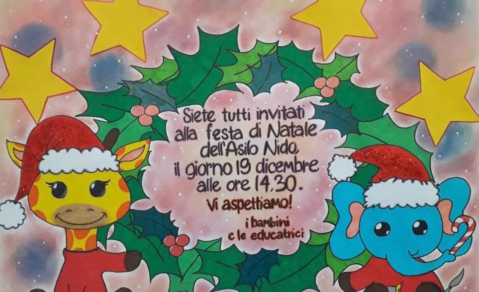 Festa di Natale asilo nido