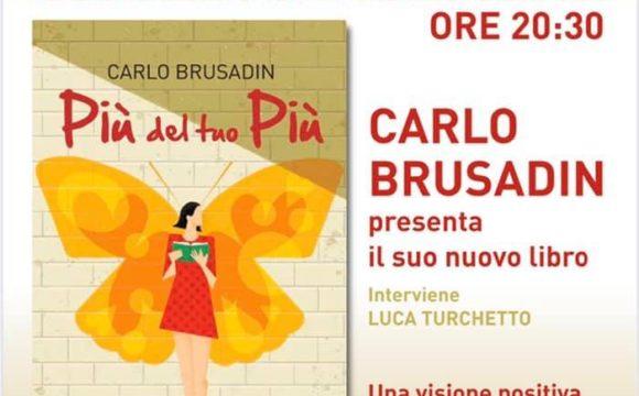 Presentazione nuovo libro di Carlo Brusadin