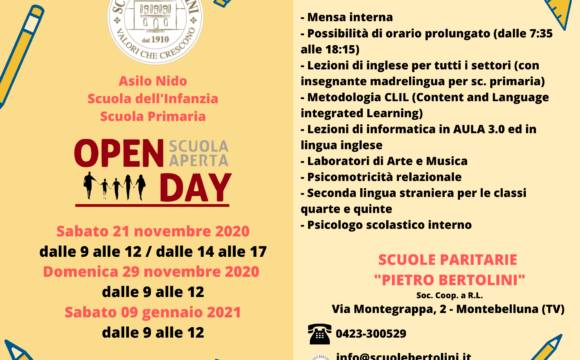 Seconda giornata OPEN DAY